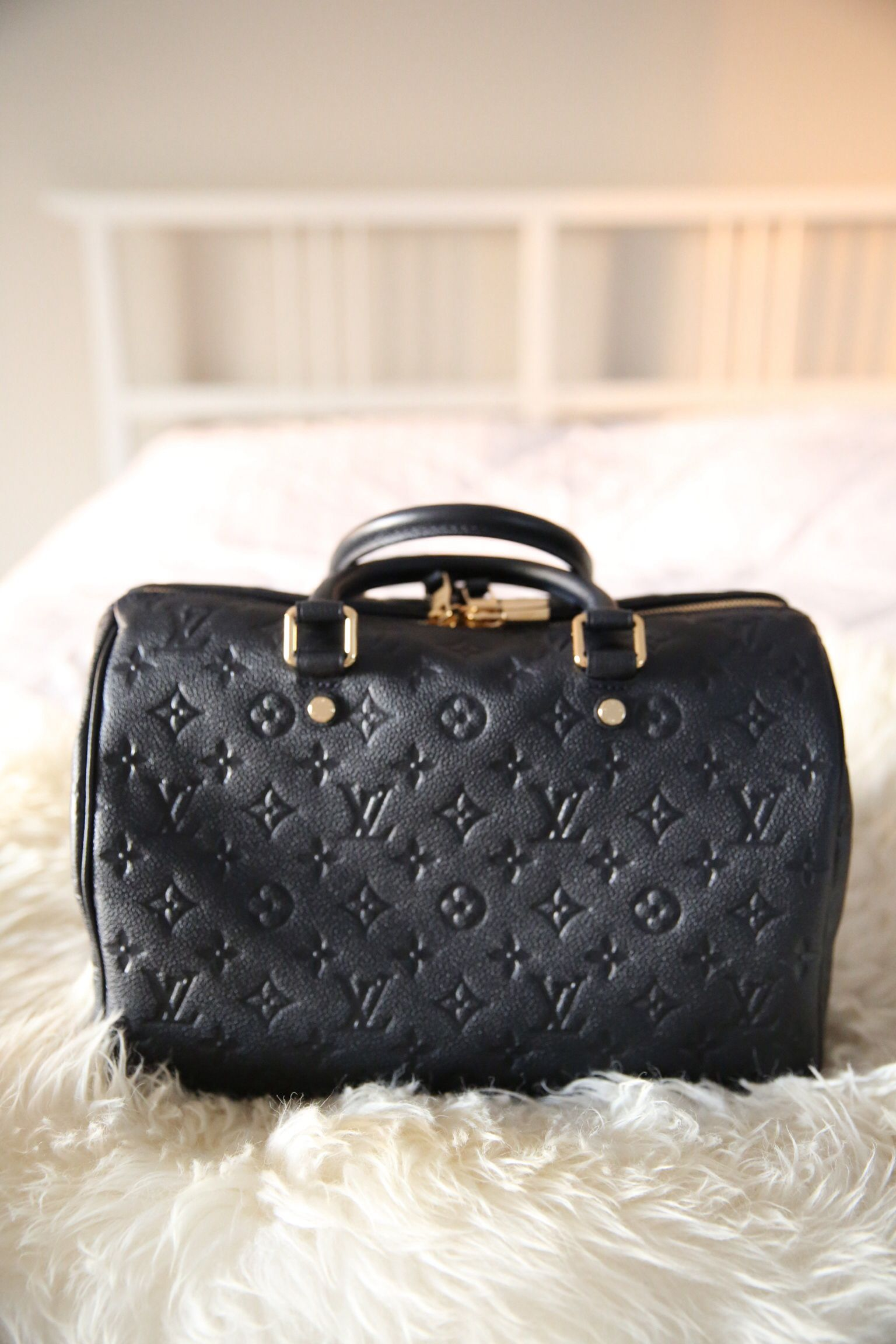 a90f59a4ff66 louis vuitton empreinte speedy 30 in infini  from paepoupae instagram