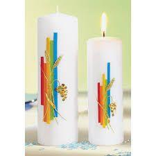 Bildergebnis Fur Kerzen Verzieren Mit Wachs Kerzen Verzieren