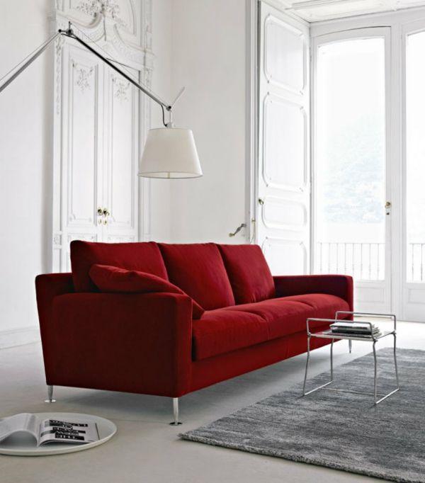 Sofa designklassiker  designklassiker möbel online rot sofa | Möbel - Designer Möbel ...