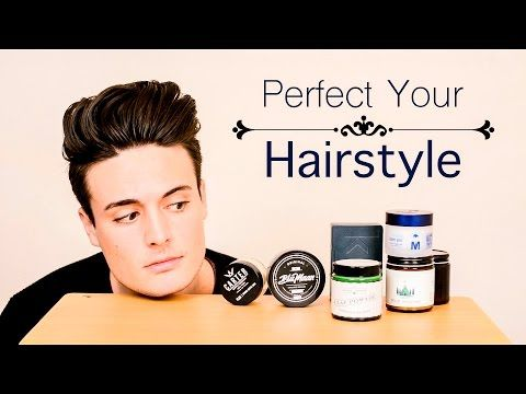 Mens Hairstyling Choosing The Best Product For Your Hairstyle