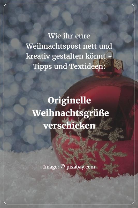 Weihnachtsgrüße Schicken.Persönliche Und Originelle Weihnachtsgrüße Verschicken Weihnachten