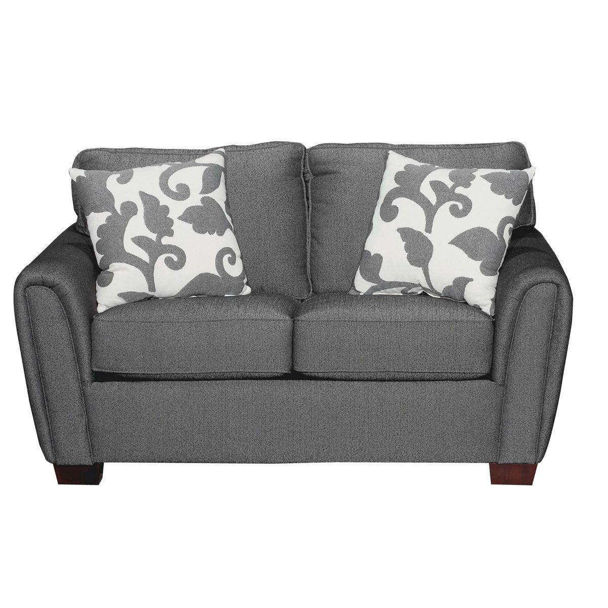 64 Onyx Upholstered Loveseat Pimp My Crib Pinterest