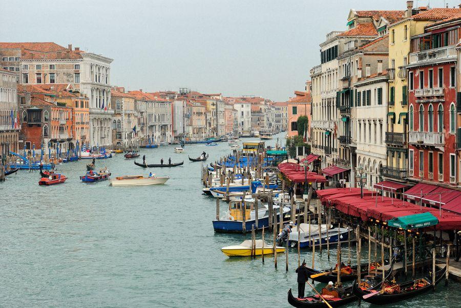City Harbor, Venice, Italy