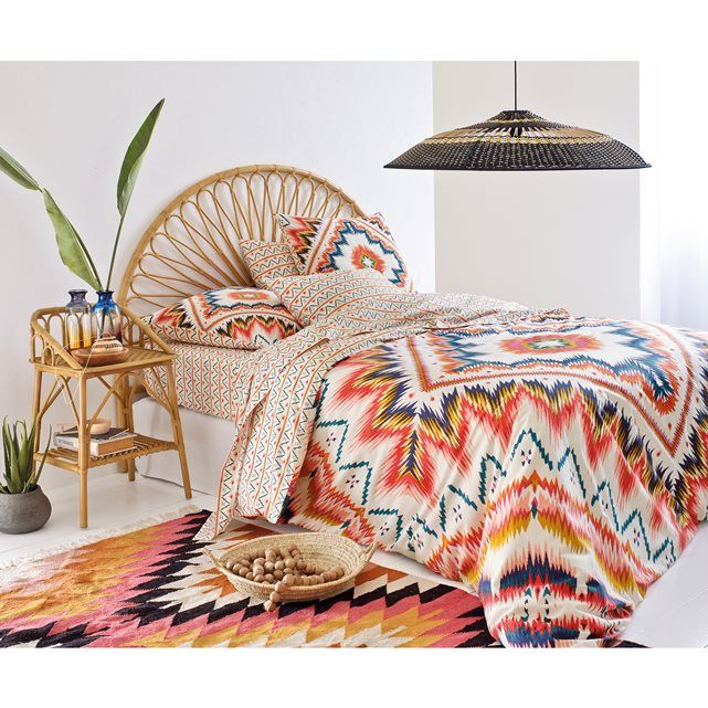 An Exotic Touch To The Bedroom: Vintage Nachtkastje In Rotan, Malu