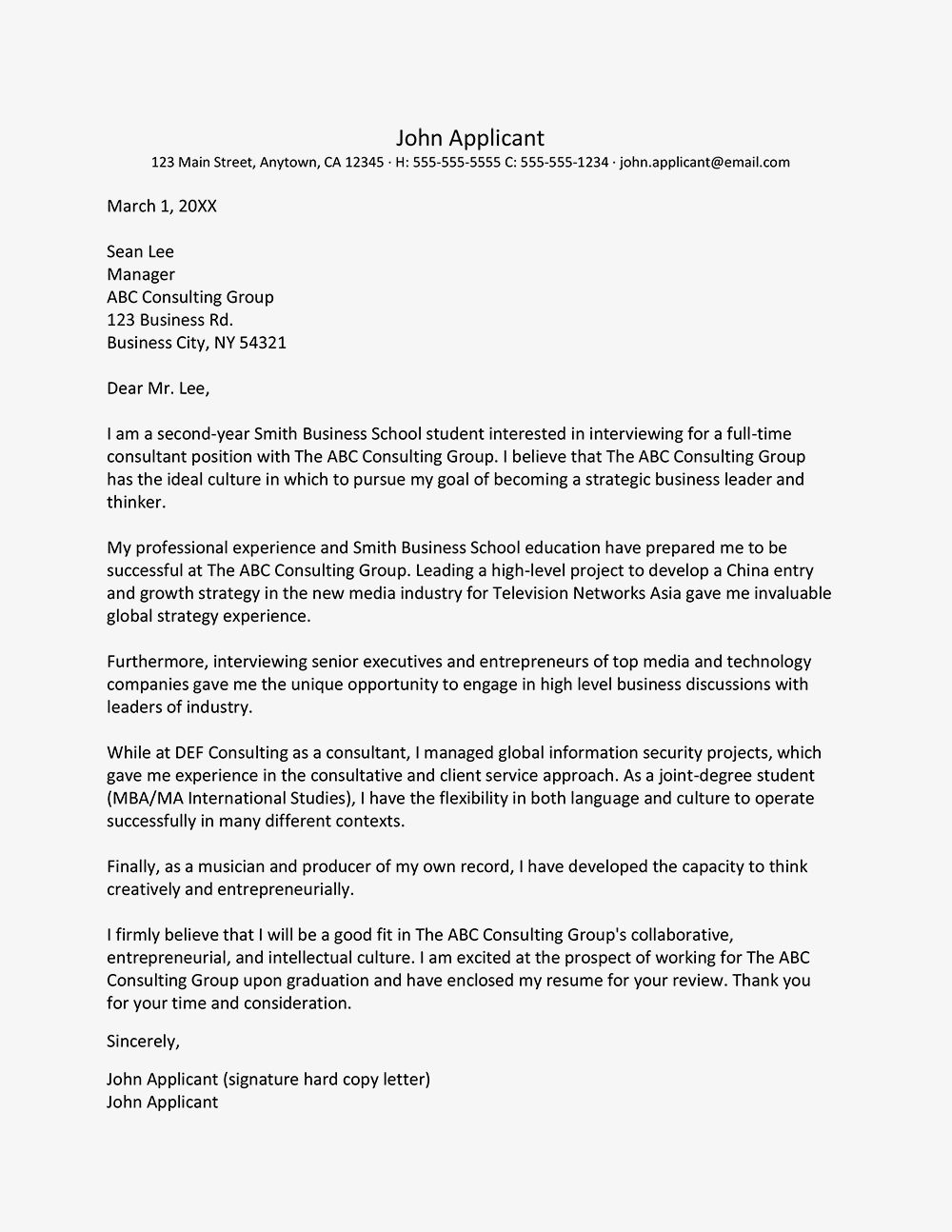 Consulting Cover Letter Sample from i.pinimg.com