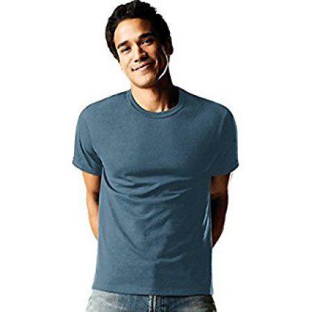 23dcdad58c850c Hanes Men s FreshIQ ComfortSoft Dyed Crew Neck T-Shirt 4-Pack