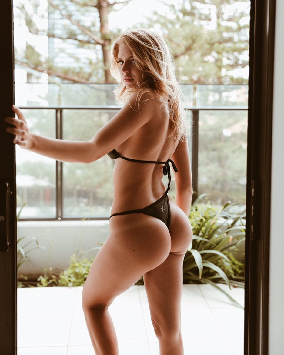 perfect Blonde ass with