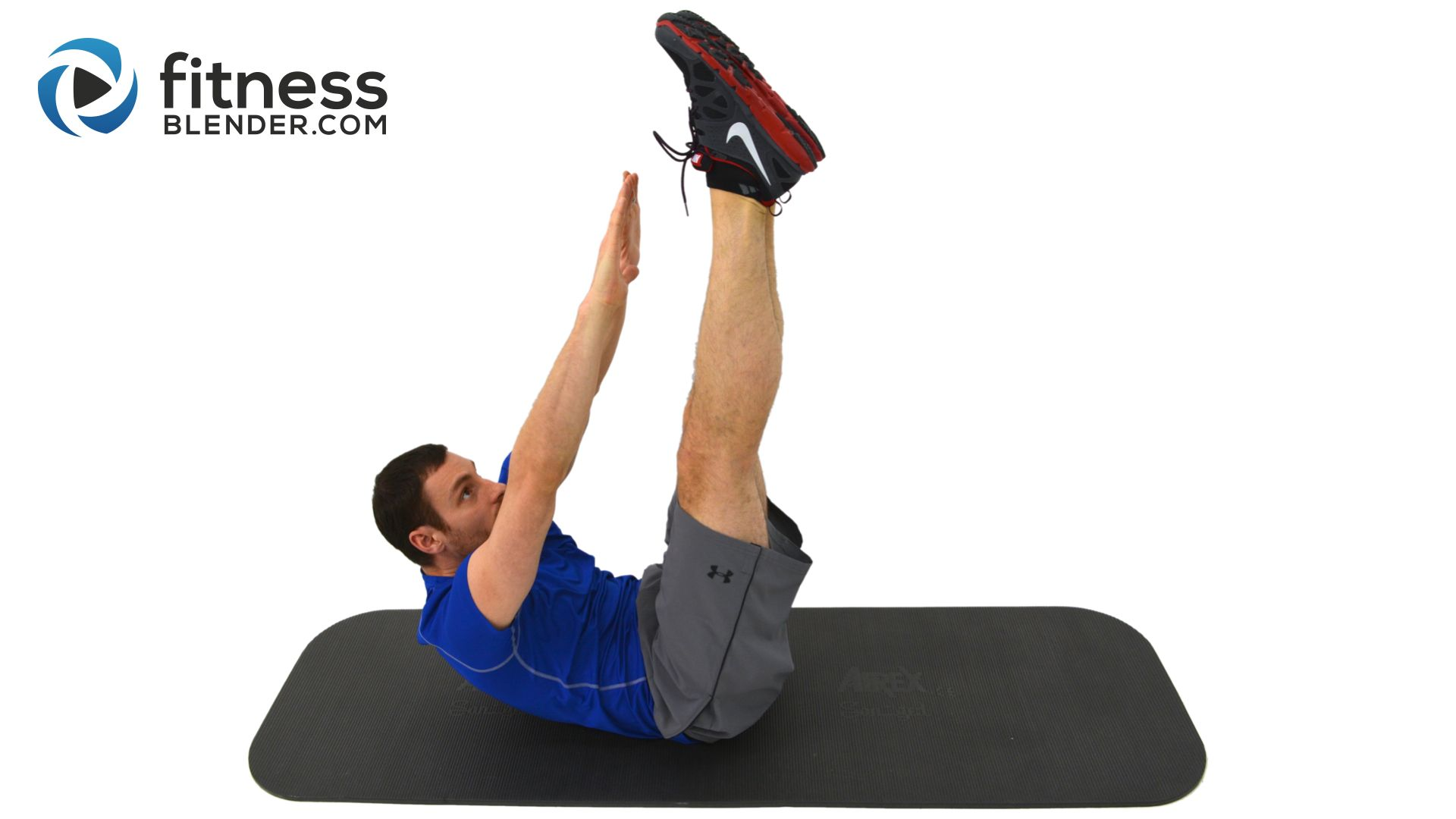 8 Minute Abs - Core Firming at Home Ab Workout - Fitness Blender