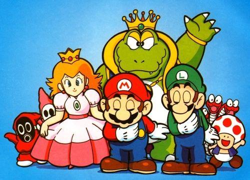 SMB2/Super Mario USA/Doki Doki Panic  | Retro Game Art