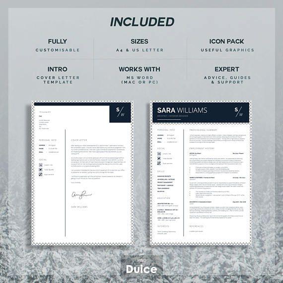 Curriculum Vitae CV Design Resume Design Instant Digital - resume templates word mac