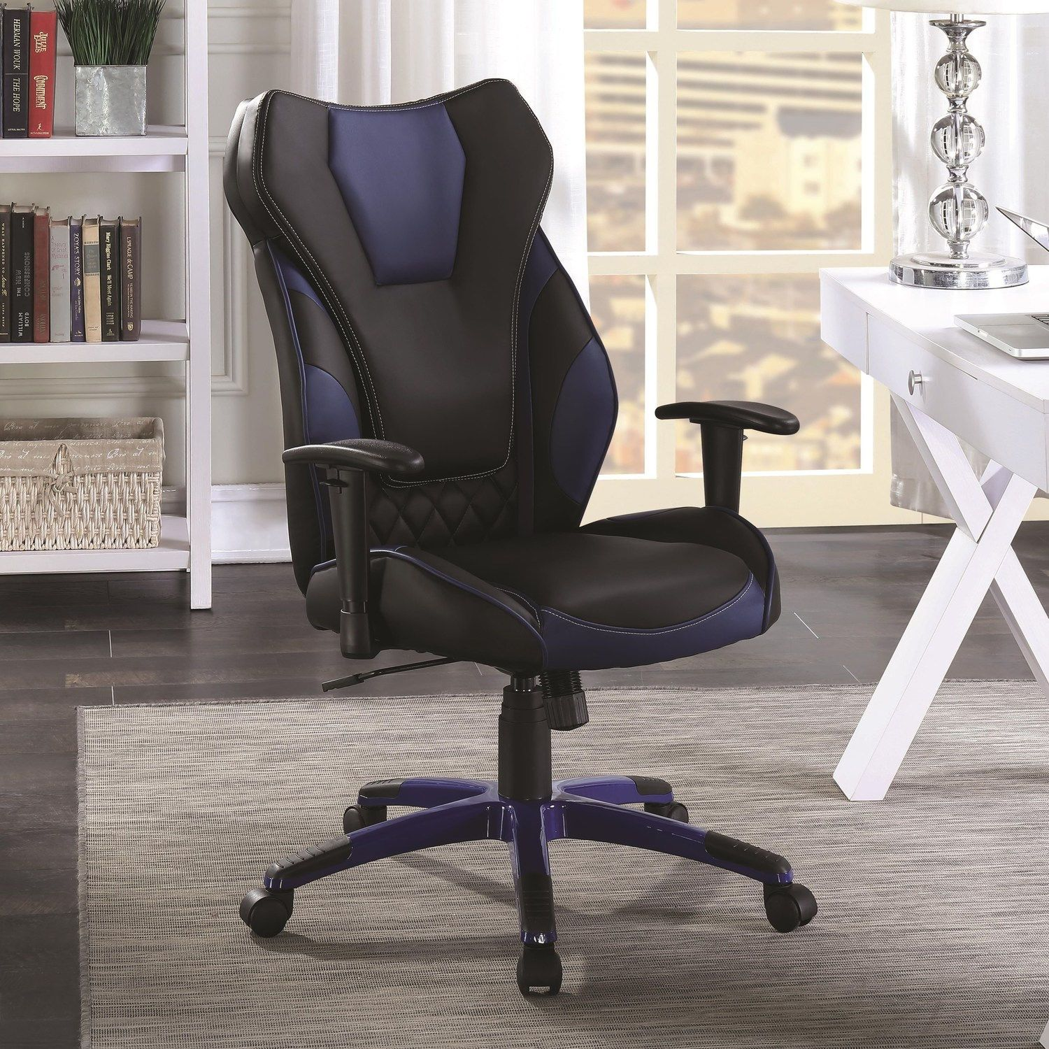 Cs468 Computer Chair In 2020 High Back Office Chair Leather Chair Adjustable Office Chair