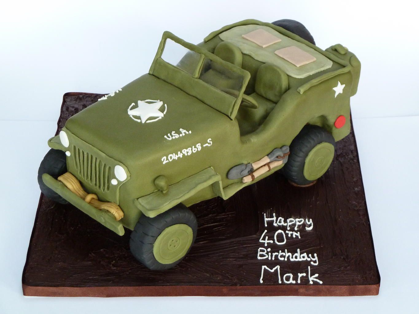 Willys Jeep Cake more at Recipinscom wedding Pinterest Jeep