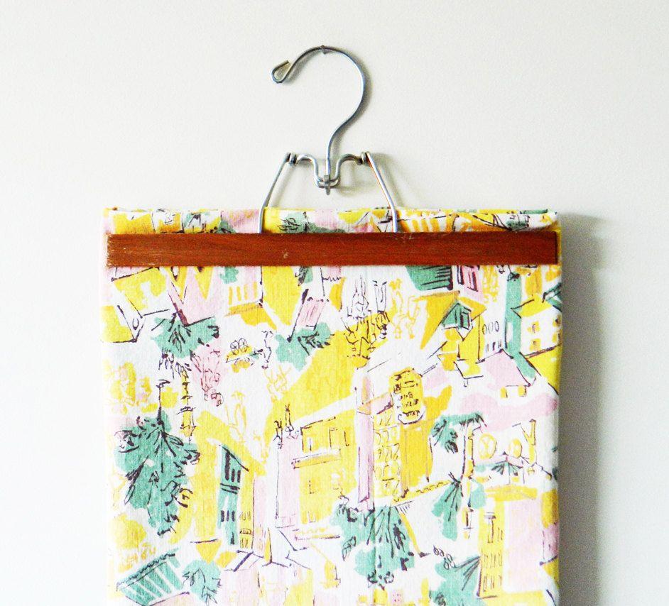 Bright Mid Century Fabric/Tablecloth