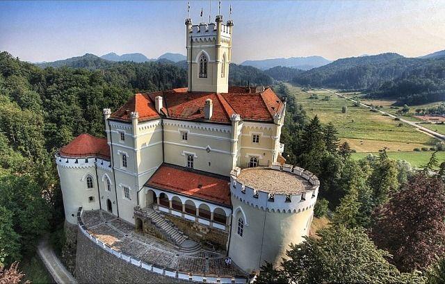 Fairytale Castles In Croatia Chasing The Donkey Castle Croatia Tours Croatia
