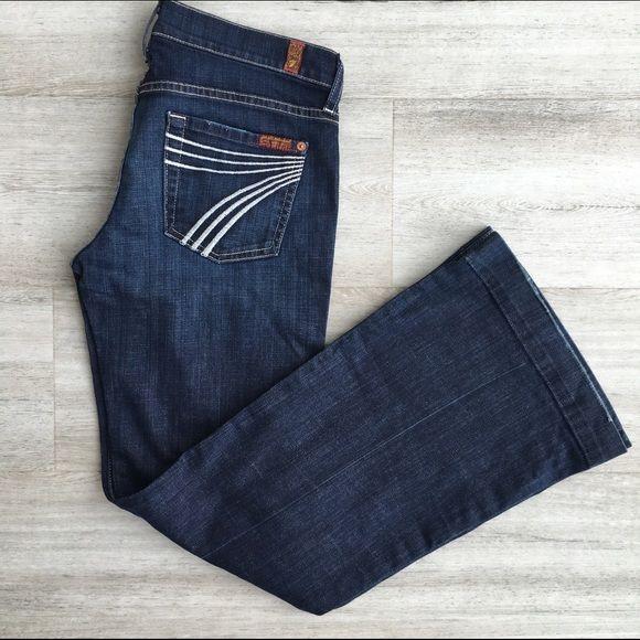 7 For All Mankind Dojo Dark Wash Jeans Dark Wash Jeans