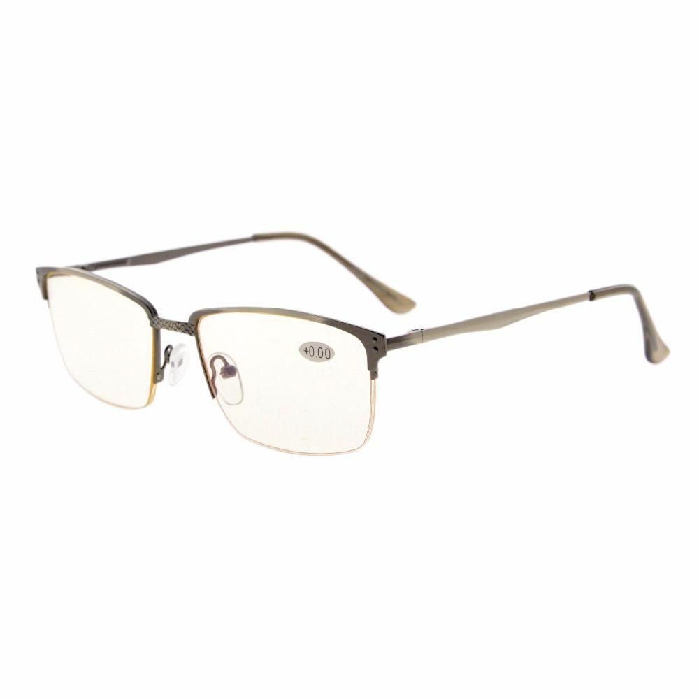 5e0917acc0 Click to Buy    CG15048 Eyekepper Quality Spring Hinges Brushed Metal Frame  Half.