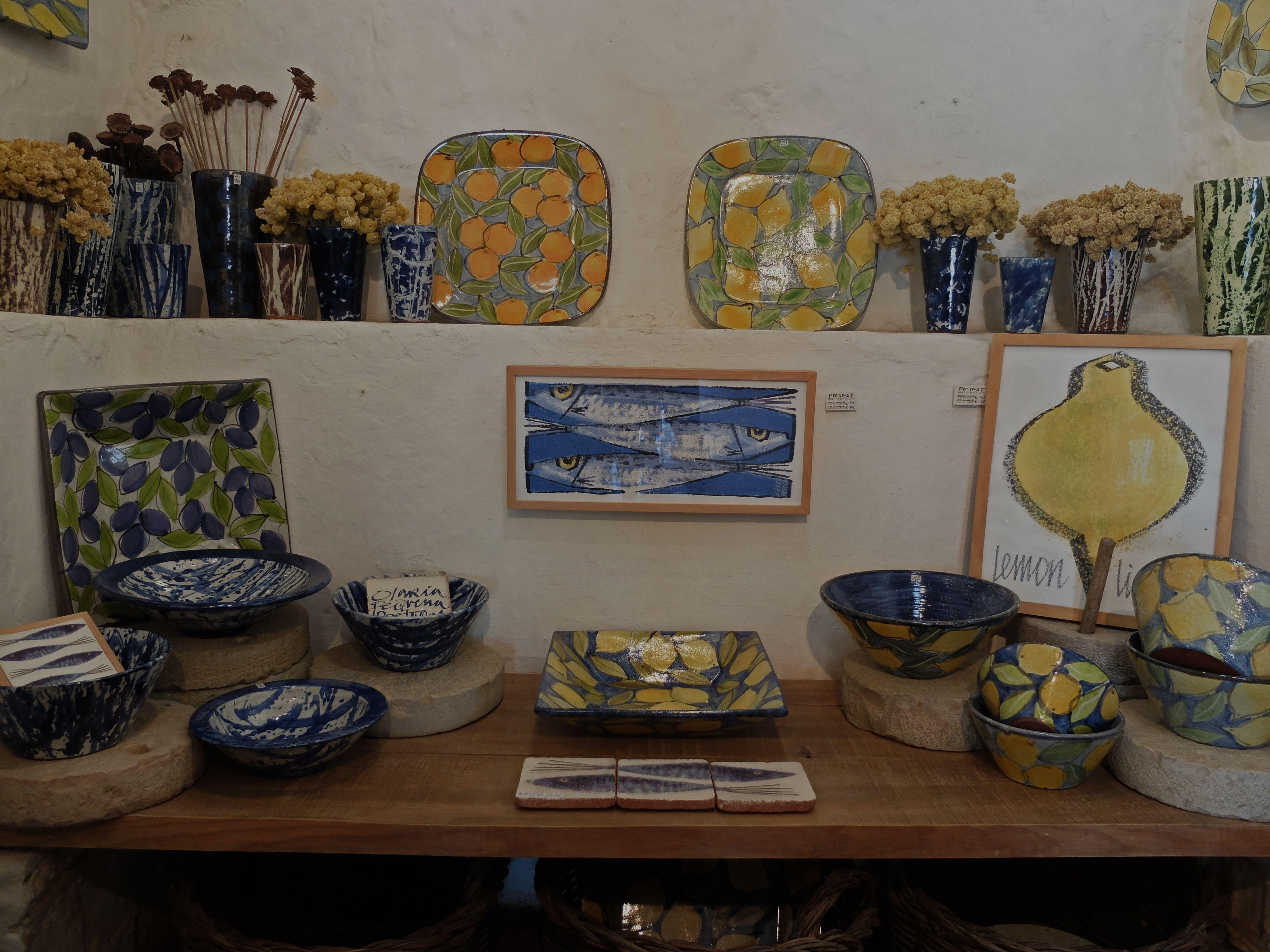 Olaria pequena, Pottery, Porches, Algarve, Portugal, October 2015, HR
