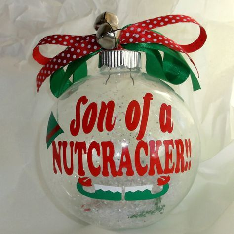 46 Ideas For Diy Christmas Ornaments Funny Fun | Funny ...