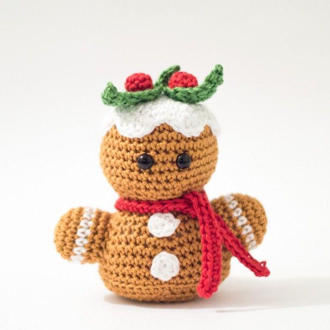 Amigurumi de jengibre | amigurumis | Pinterest | Weihnachtsmuster ...