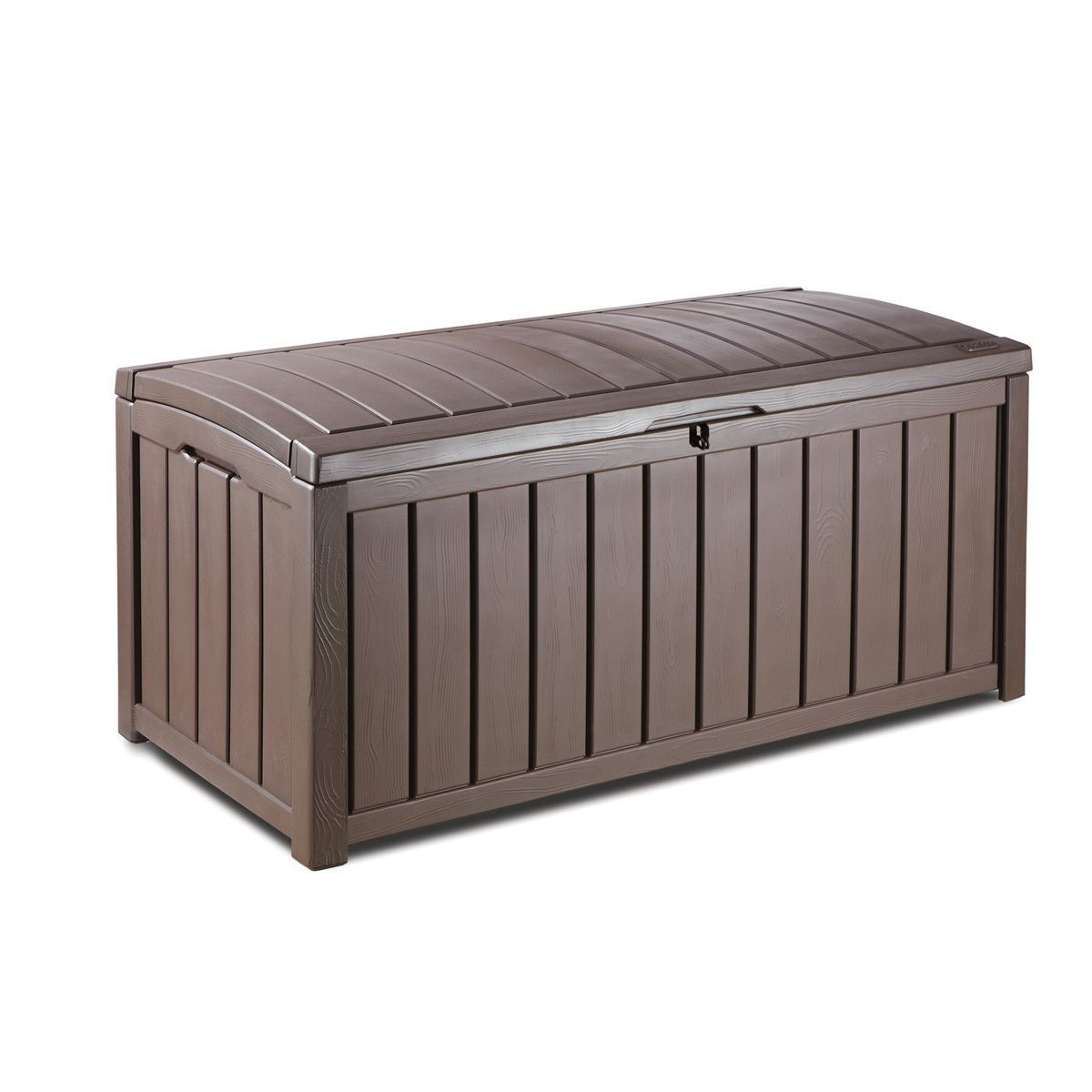 Keter Glenwood 101 Gallon Deck Storage Box, Patio Furniture