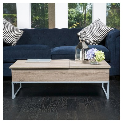 Lift Functional Coffee Table Sonoma Tan Christopher Knight Home Coffee Table With Storage Apartment Furniture Sofa End Tables