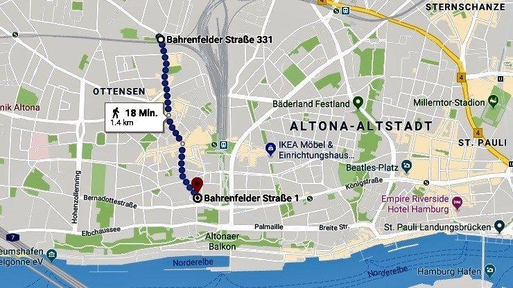 Trendviertel Hamburg Ottensen Entdecken Bahrenfelder Strasse