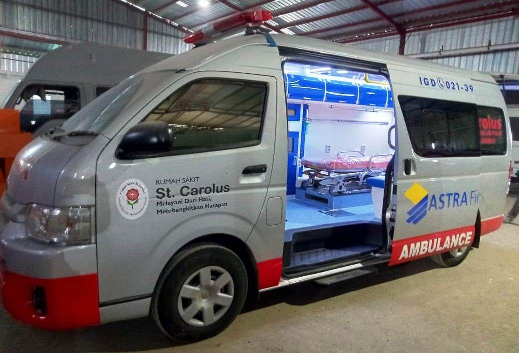 Jual Toyota Hiace Ambulance Harga Ambulance Toyota Hiace 085925340494