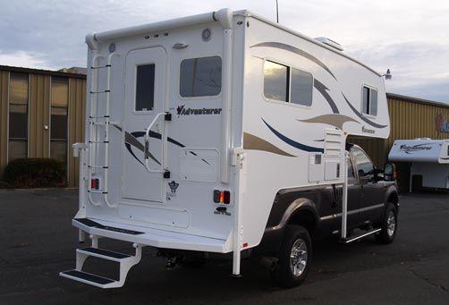 2012 Adventurer 86fb Truck Camper Camper Toy Hauler Travel Trailer