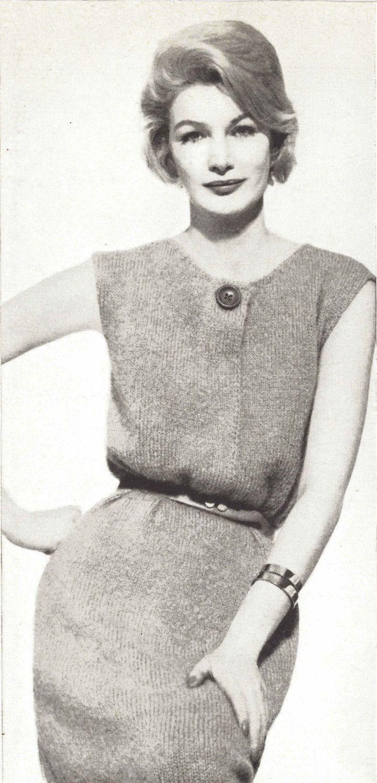 Bala dress 1960s knitting knit sweaterdress tunic sweater bala dress 1960s knitting knit sweaterdress tunic sweater pattern vintage vogue knit 1961 bankloansurffo Choice Image