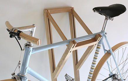 30 creative bicycle storage ideas en 2018 pinterest range velo rangement et garage. Black Bedroom Furniture Sets. Home Design Ideas