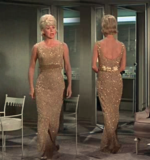 If I Were A Clothing Designer I Would Design This Dress Worn By Doris Day In The Thrill Of It All The Dress Was Desig Fashion Hollywood Fashion Movie Fashion