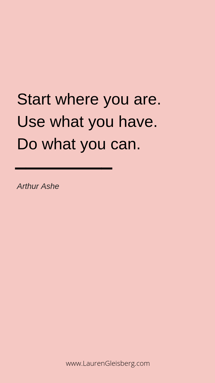 BEST MOTIVATIONAL & INSPIRATIONAL GYM / FITNESS QUOTES - start where you are, use what you have, do...