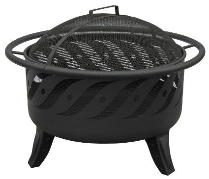 #Outdoor #Propane #Fire #Pit #Gas #Table #Top #Patio #Bowl #Stove #Garden #Yard #Steel #Decor