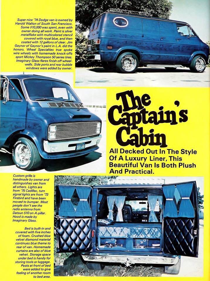 Custom 70's Dodge van | Old school vans, Custom vans, Dodge van