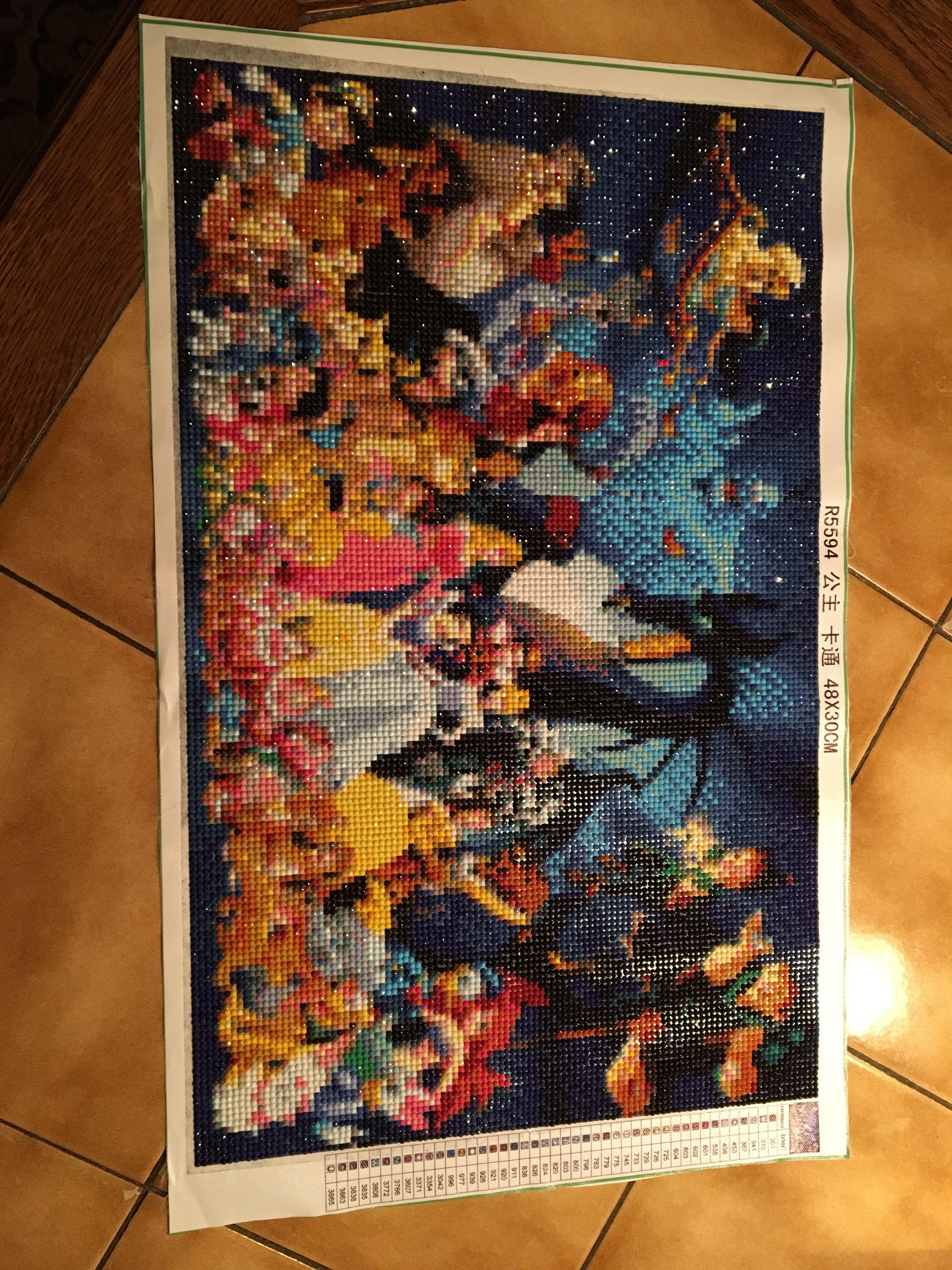 Diamond paint kit Disney Diamond art, Diamond paint