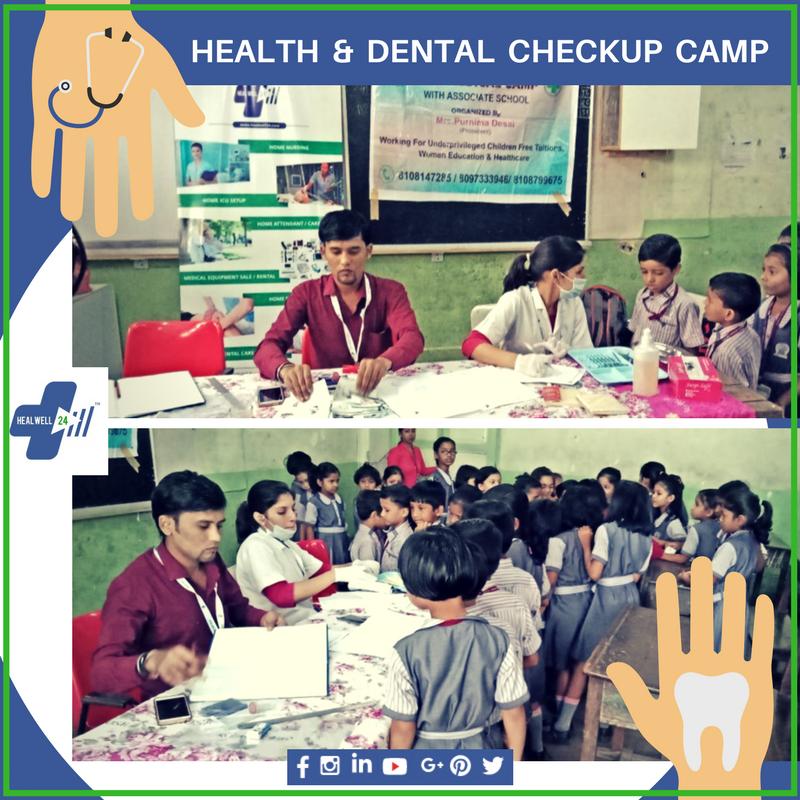 Health & Dental Checkup Camp