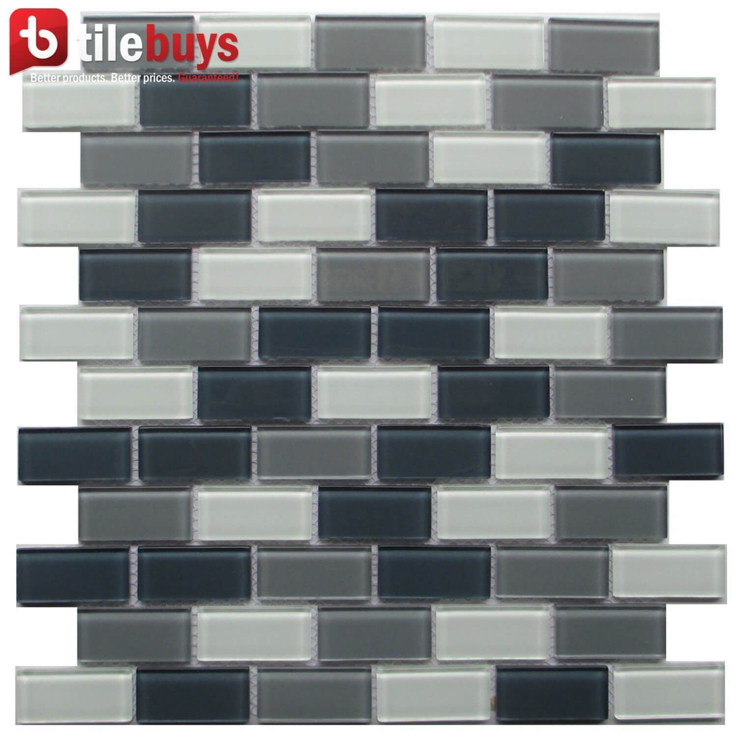 Glass mosaic white in products pinterest tiles wall