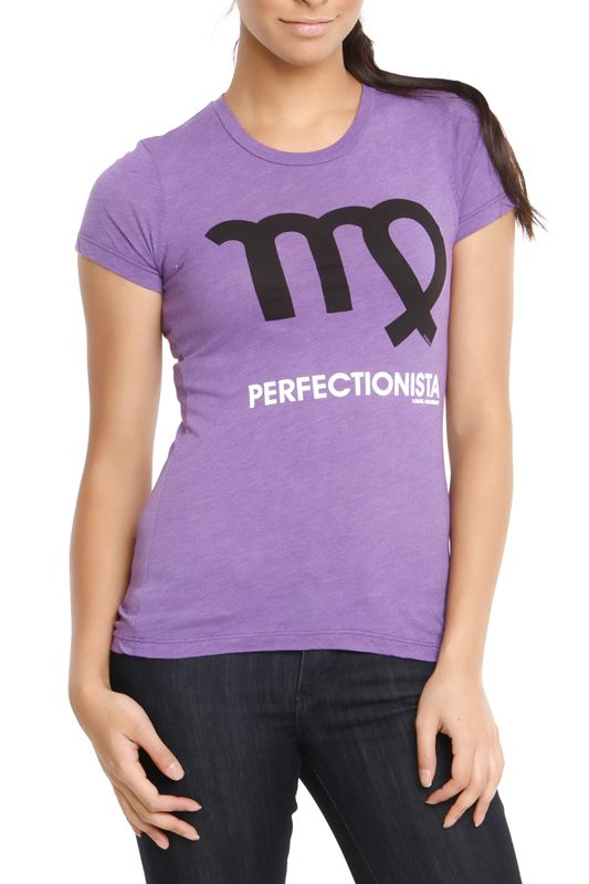 @tabitha..perfect shirt and its purple!