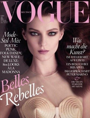 Kati Nescher for Vogue Germany May 2013