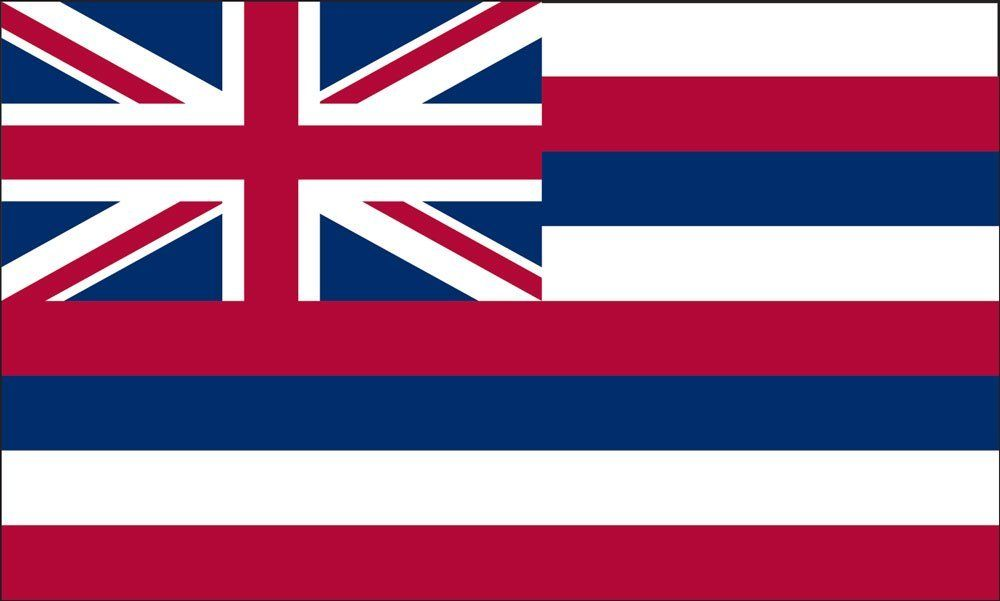 Hawaii State Flag Coloring Pages U S Flags Flag Company Flag