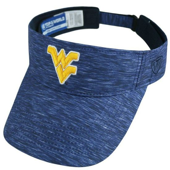 Show off your true blue and gold pride with our Top of the World WVU Energy  Visor. 2d43d74af23