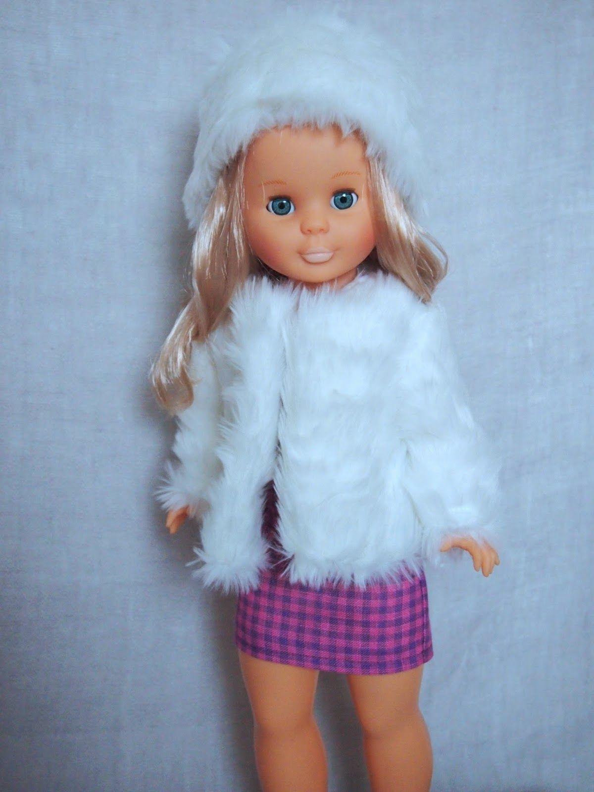 Tengo una muñeca vestida de azul: Nancy, abrigo para ir de fiesta