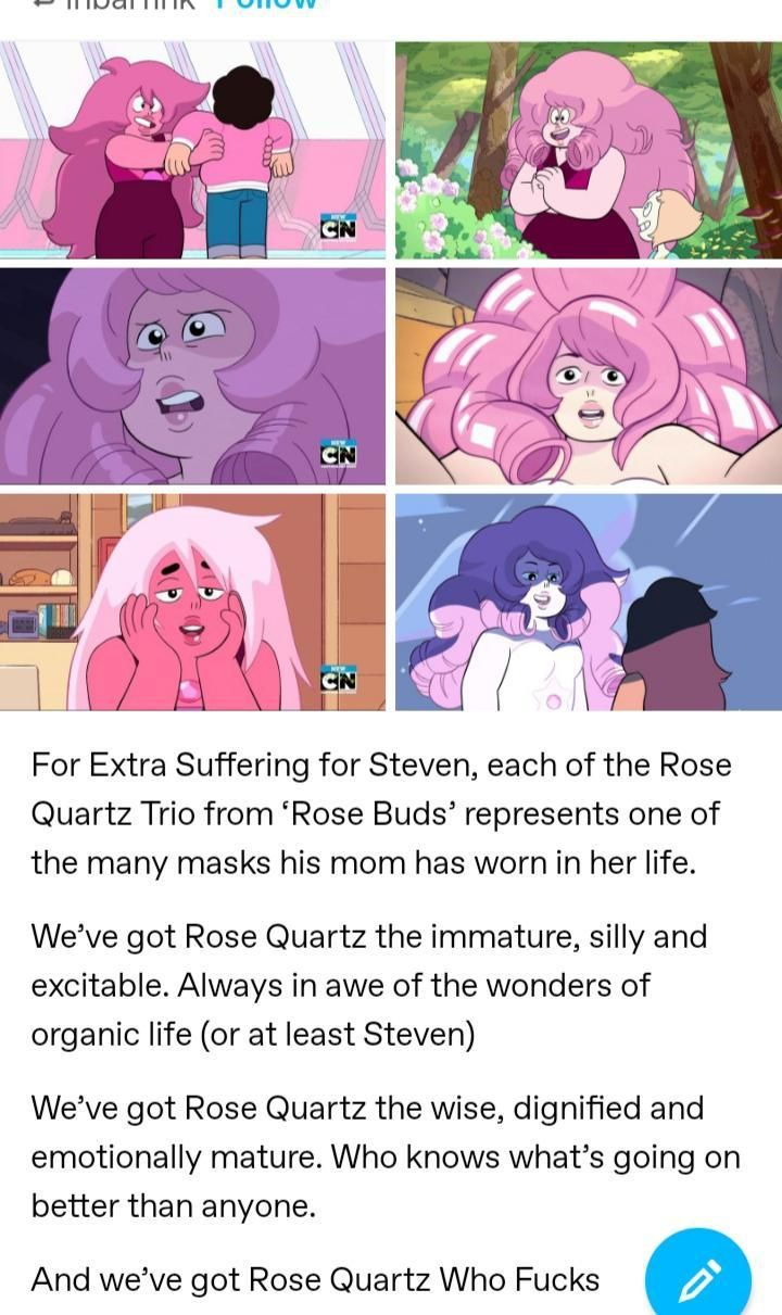 The Three Faces of Rose | Steven Universe