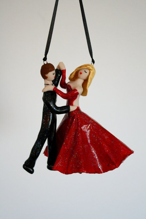 Ballroom dancers Waltz couple hand-sculpted by CrimsonMuse on Etsy ...