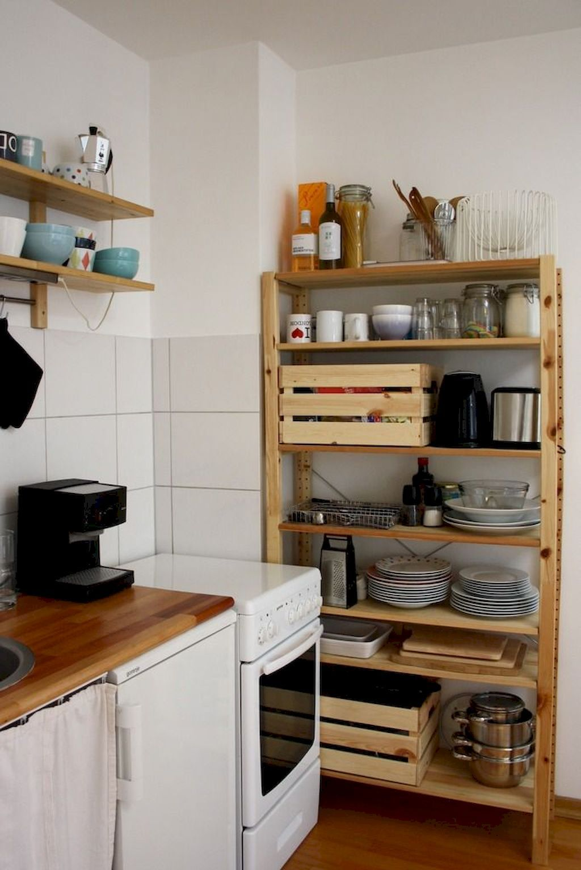 The Best of Little Apartment Kitchen Decor #kitchenremodelsmall