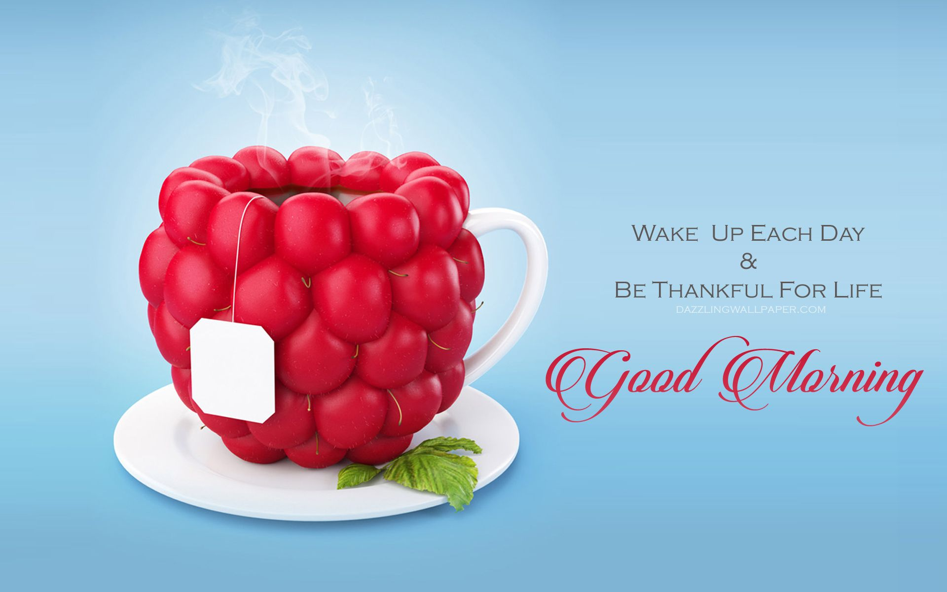 Good Morning Wishes With Tea Hd Wallpaper Good Morning Have A Nice