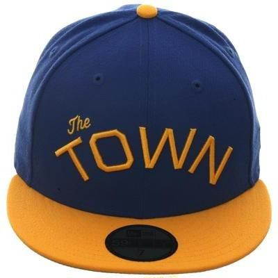 buy online c04f2 158e7 Exclusive New Era 59Fifty Golden State Warriors  The Town  Hat - 2T Royal,  Gold,   14.98