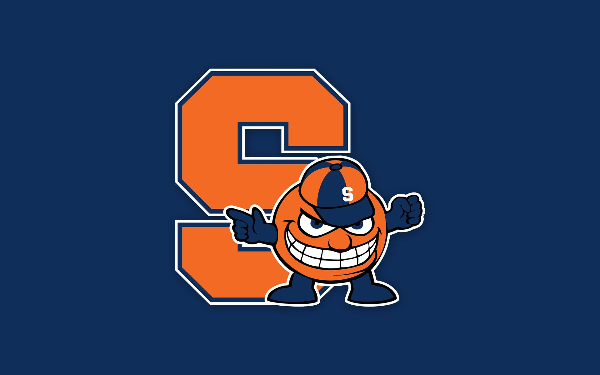 Syracuse Orange Wallpaper