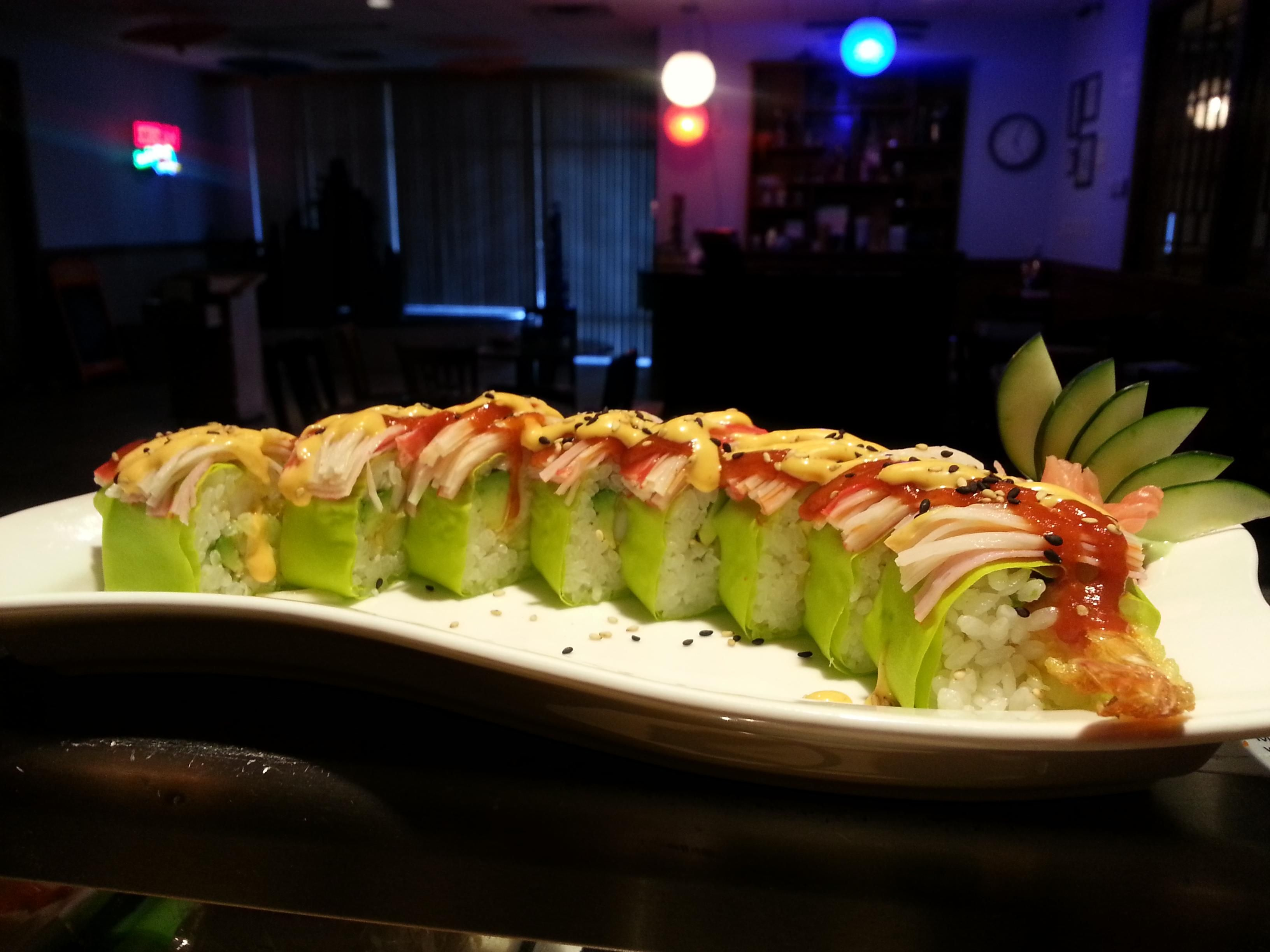 Tangerine Sushi Bar Knoxville Tn Sushi Cuisine Japanese Cuisine
