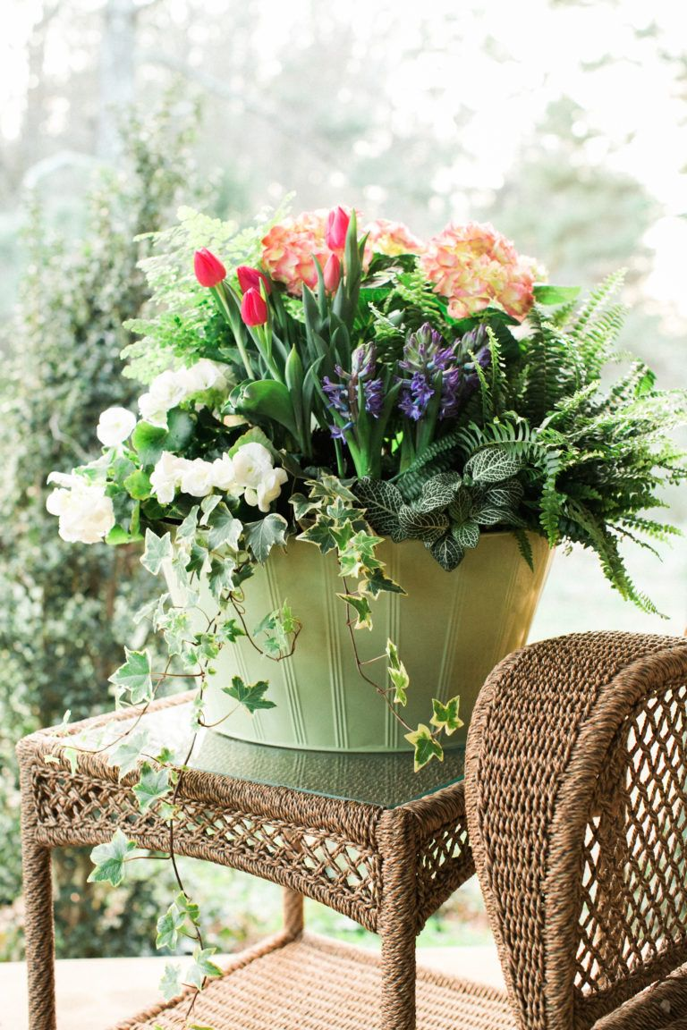 28 Container Gardens for Spring Day 15 Container